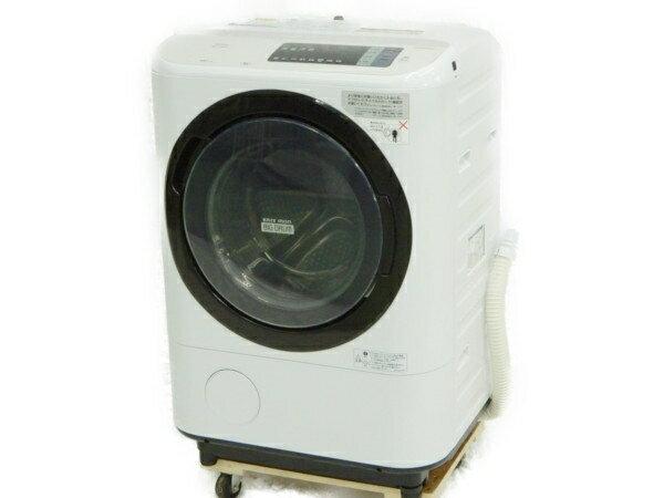 【中古】 HITACHI 日立 BD-NV110AR 洗濯機 ドラム式 ビックドラム 11kg 家電 【大型】 Y3477341