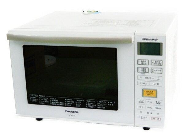 未使用 【中古】 Panasonic パナソニック オーブンレンジ NE-MS234-W 電子レンジ コンパクト 23L 2018年製 Y3563683