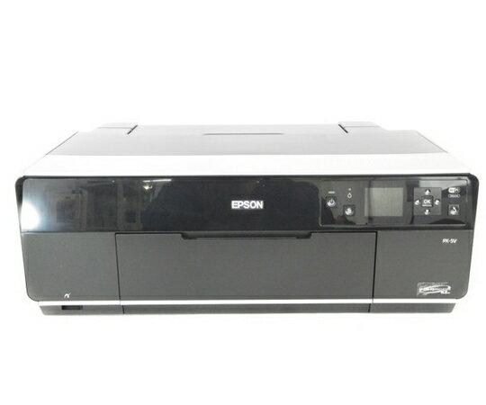 【中古】 EPSON エプソン PX-5V インクジェットプリンタ A3 ブラック プリンター N2762437
