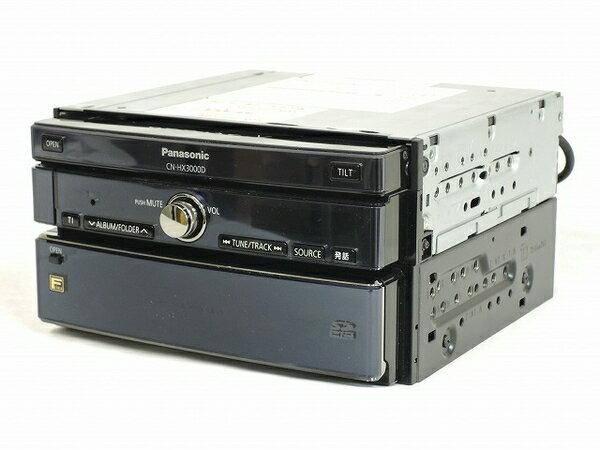 【中古】 中古 Panasonic ストラーダ CN-HX3000D 7型ワイドHDDカーナビステーション 地図データ 09年度版 O2713716