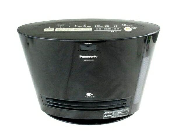 【中古】 中古 Panasonic パナソニック DS-FKX1205-K 加湿機能付きセラミックファンヒーター ブラック N3214644