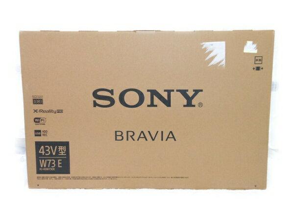 未使用 【中古】 SONY ソニー BRAVIA KJ-43W730E 液晶テレビ 43型 N2764922