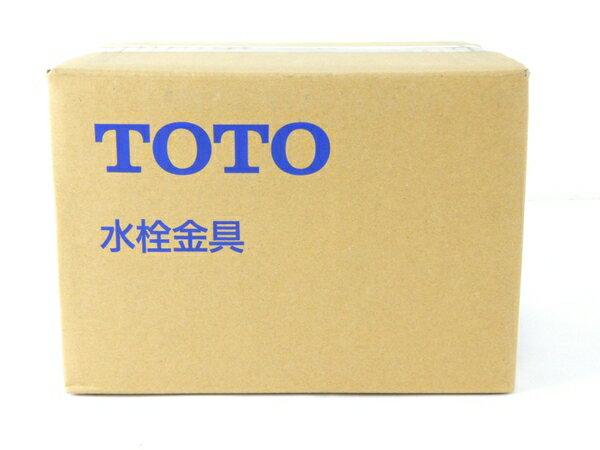 未使用 【中古】 TOTO TLHG30AE 洗面用 シングル 混合 水栓 住宅 設備 機器 Y3542872