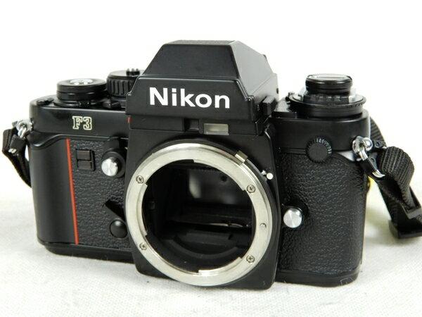 【中古】 NIKON ニコン F3 フィルム 一眼レフ カメラ ブラック K3429897