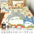 毛布/ハーフケット/となりのトトロ/ハーフサイズ/ジュニアケット/ジュニア毛布/子供用毛布