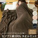タオルケット ダブル エジプト綿100% 180×200cm コットンタオルケット 夏掛け 肌掛け 綿100% ふっくら 涼感 吸水性…