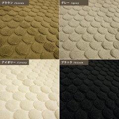 バスマット/イデアゾラ/ドット柄/綿100%/タオル地マット/日本製/今治タオル/45×65cm/お風呂マット