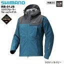 シマノ/SHIMANO RB-01JS GORE-TEX エクスプローラーウォームジャケット ラスティネイビー M〜XL