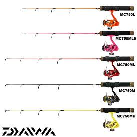 ダイワ/DAIWA MC750 L/MLS/ML/M/MH (穴釣りロッド リールセット) テトラロッド