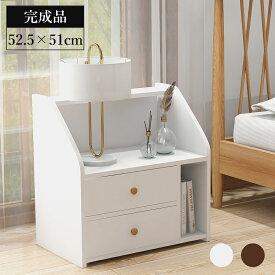 【送料無料】サイドテーブル 収納 ベッドサイド ナイトテーブル おしゃれ 北欧 ベッドテーブル 寝室 新生活応援 家具 WF0146