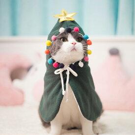 【クリスマス限定商品&送料無料 】クリスマス猫犬服 可愛いマント プレゼント猫服 犬服 コスプレ 可愛い かわいい 変身服 出掛け 写真 撮影道具 christmas限定服