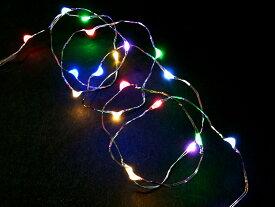 【20球 7色ミックス色 無点滅室内ジュエリー電池タイプLEDライト /LED7色ミックス /無点滅 (コロナ産業)