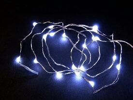 20球 白色 無点滅室内ジュエリー電池タイプLEDライト /LEDホワイト /無点滅  (コロナ産業)