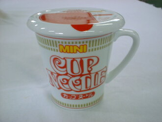Nissin Cup noodle handle with lid Cup noodle style mug P06Dec14