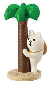 【DECOLE】まったり ヤシの木 しろくま