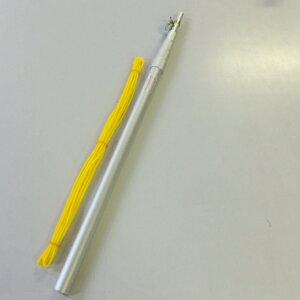 ベランダ用こいのぼりポール シルバー色 全長2.3m ロープ6m滑車付 5本継鯉のぼり こいのぼりアルミポール