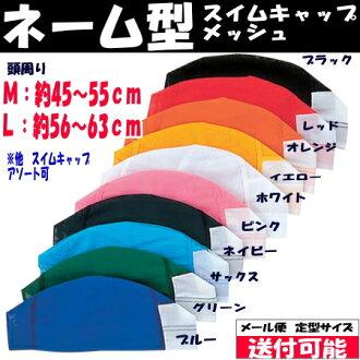 """일본 업체에서 """"(이름 형식) 수영 모자 (탈수 좋은 메쉬) 어린이 ~ 성인까지 이름을 남길 수영 모자 (수영 모자) (이름 모자) (키즈 용) (수영복)"""