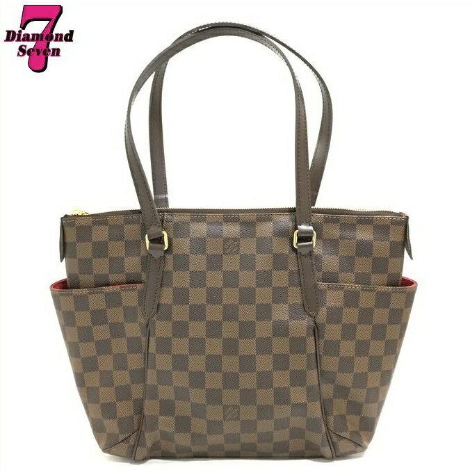 【送料無料】 【超美品】LOUIS VUITTON ルイ ヴィトン トータリーPM ショルダーバッグ レディース ダミエ N41282 肩掛け BAG 鞄 カバン ブランドバッグ