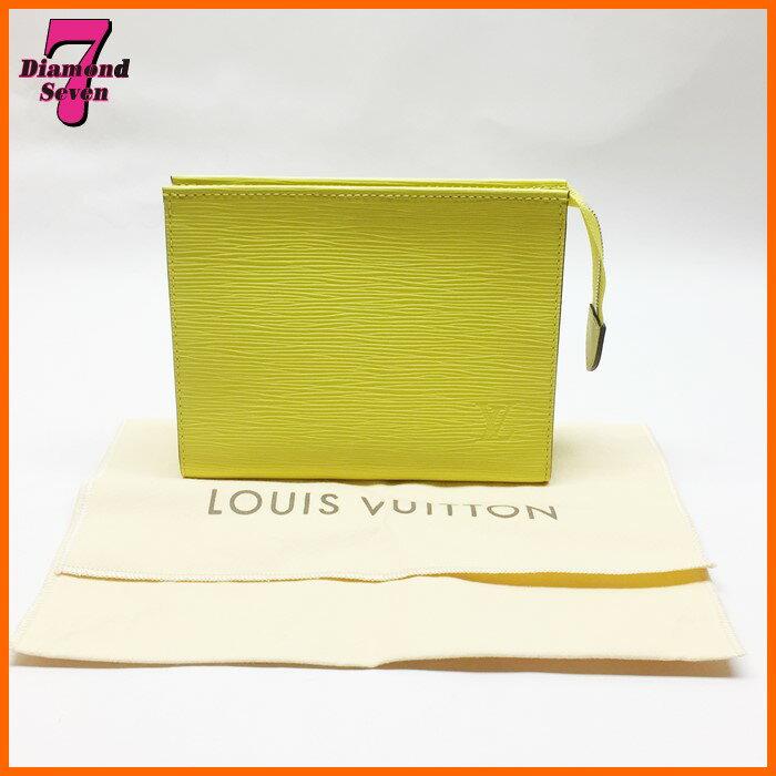 送料無料【未使用】Louis Vuitton ルイヴィトン ポッシュトワレ19 M41088 エピ イエロー系 レディース 女性
