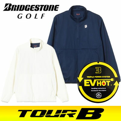 BRIDGESTONE GOLF [ブリヂストン ゴルフ] TOUR B 電熱線入りハーフジップブルゾン 57G91D