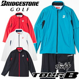 BRIDGESTONE GOLF [ブリヂストン ゴルフ] TOUR B 水神 [スイジン] レインウェア 【上下セット】 88G03