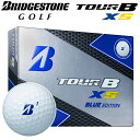 BRIDGESTONE [ブリヂストン] TOUR B XS BLUE EDITION ゴルフ ボール (1ダース:12球)