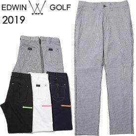 EDWIN GOLF [エドウィン ゴルフ] REGULAR SLIM TAPERD[レギュラー スリム テーパード]パンツ EG19S1000