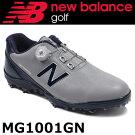 NEWBALANCEGOLF[ニューバランスゴルフ]ボアソフトスパイクゴルフシューズ[グレー/ネイビー]MG1001