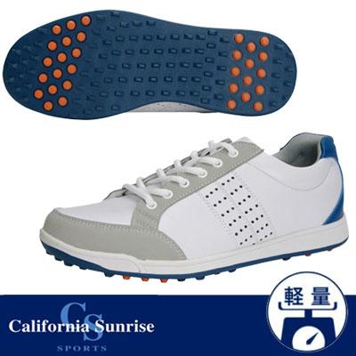 California Sunrise [カリフォルニア サンライズ] スパイクレスシューズ CSSH-3611 ホワイト/ブルー