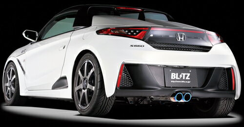BLITZ NUR-SPEC VSR ホンダ S660 JW5用 フロントパイプ付き(63166V)【マフラー】【自動車パーツ】ブリッツ ニュルスペック ブイエスアール