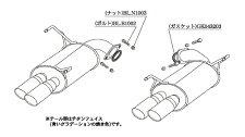柿本改カキモトレーシングClassKRスバルWRXS4VAG用リアピースのみ(B71354R)