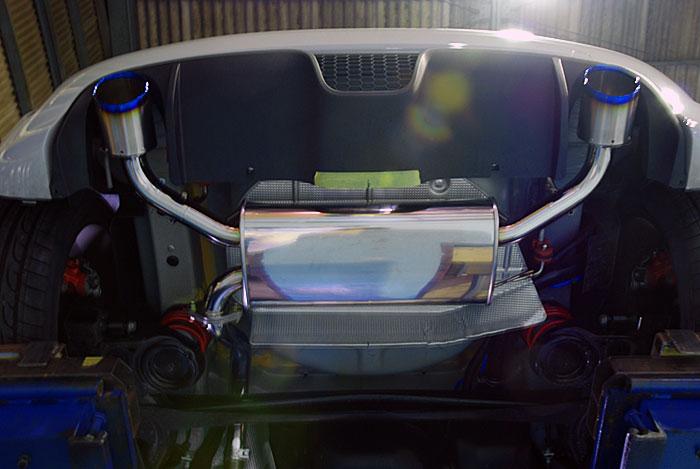 アーキュレー エキゾーストシステム チタンテール FIAT 500 ABARTH用 品番(6070TK32)【マフラー】【自動車パーツ】ARQRAY Exhaust System Titanium Tail