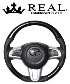 REAL STEERING オリジナルシリーズ トヨタ タンク M900A/M910A用 カラー:パールブラック (M90-BKP-BK)【ハンドル】レアル ステアリング