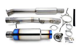 リアルスピードエンジニアリング フルチタンマフラー 日産 ニッサン スカイライン 4ドア ER34用 (RB6090-NS06B)【マフラー】RSE REAL SPEED ENGINEERING FULL TITAN MUFFLER