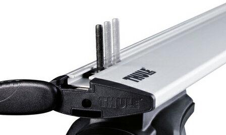 【単体注文不可】THULE Tトラックアダプター 697-6【キャリア】スーリー Ttrack Adapter
