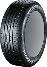 【タイヤ交換対象】Continental Conti Eco Contact 5 Seal 215/55R17 94V VW用 【215/55-17】 【新品シールTire】コンチネンタル タイヤ コンチ エコ コンタクト