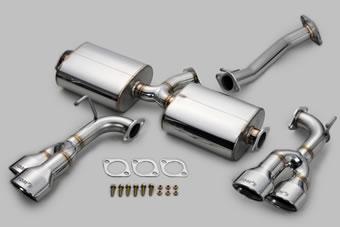 TOM'S Exhaust System TOM'S BARREL レクサス NX 200t AGZ1#用 4テール(17400-TAZ10)【マフラー】トムス エキゾーストシステム トムスバレル