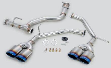 TOM'S Exhaust System TOM'S BARREL トヨタ アルファード SA GGH30/GGH35用 チタンテール仕様(17400-TGH31)【マフラー】トムス エキゾーストシステム トムスバレル