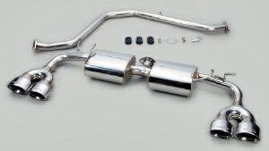 TOM'S Exhaust System TOM'S BARREL トヨタ C-HR ハイブリッド TRDリヤバンパー装着車 ZYX10用 ステンレステール仕様(17400-TZX11)【マフラー】 トムス エキゾーストシステム トムスバレル