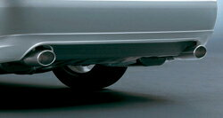TOM'S Rear Under Spoiler トヨタ クラウン アスリート GRS180/GRS181/GRS184用 塗装済(品番:52159-TGS84-)【法人直送のみの対応】【エアロ】トムス リヤアンダースポイラー
