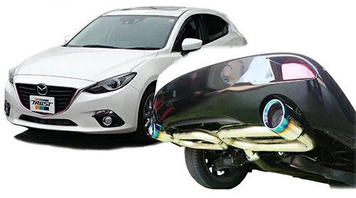 TRUST GReddy COMFORT SPORT GTスラッシュマフラー マツダ アクセラスポーツ XD BM2FS用 (10140715)【マフラー】トラスト グレッディ コンフォートスポーツ