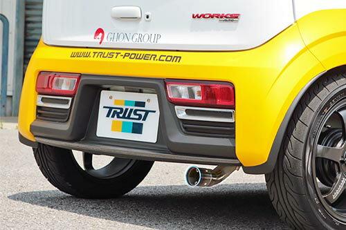 TRUST GReddy Power Extreme-R スズキ アルトワークス 5MT キャタライザー付 HA36S用 (10193304)【マフラー】トラスト グレッディ パワーエクストリームR