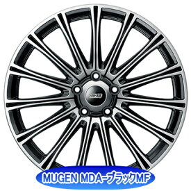 ホイール: MUGEN MDA ホイールサイズ: 7.5J-18 タイヤ銘柄: BRIDGESTONE REGNO GRVII タイヤサイズ: 225/45R18 タイヤ&ホイール4本セット【18インチ】
