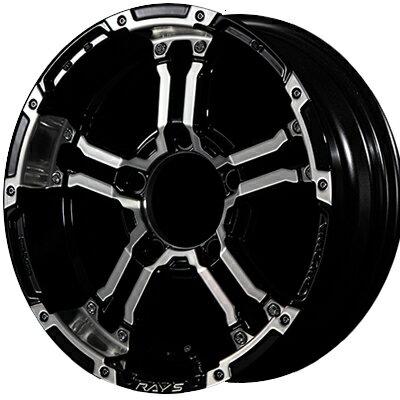 ホイール: RAYS DAYTONA FDX-J ホイールサイズ: 5.5J-16 タイヤ銘柄: TOYO OPEN COUNTRY R/T タイヤサイズ: 185/85R16 タイヤ&ホイール4本セット【16インチ】