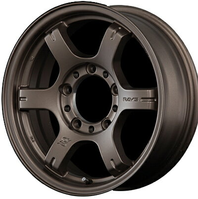 ホイール: RAYS Gram Lights 57JX ホイールサイズ: 5.5J-16 タイヤ銘柄: TOYO OPEN COUNTRY R/T タイヤサイズ: 185/85R16 タイヤ&ホイール4本セット【16インチ】