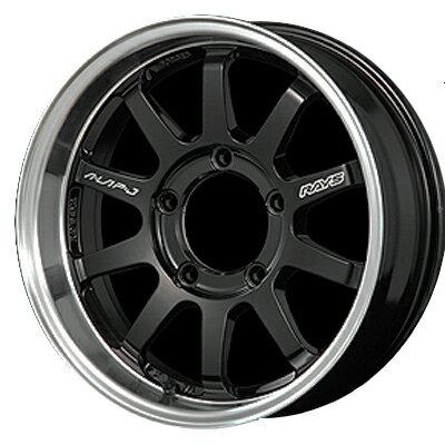 ホイール: RAYS KC DECOR A●LAP-J ホイールサイズ: 5.5J-16 タイヤ銘柄: TOYO OPEN COUNTRY R/T タイヤサイズ: 185/85R16 タイヤ&ホイール4本セット【16インチ】