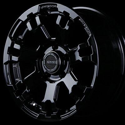 ホイール: RAYS DAYTONA FDX-F7 ホイールサイズ: 7.0J-17 タイヤ銘柄: YOKOHAMA GEOLANDAR SUV G055 タイヤサイズ: 225/60R17 タイヤ&ホイール4本セット【17インチ】