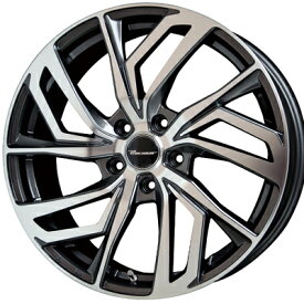 ホイール: HOT STUFF Precious C-1 ホイールサイズ: 7.0J-17 タイヤ銘柄: TOYO TIRES TRANPATH ML タイヤサイズ: 205/50R17 タイヤ&ホイール4本セット【17インチ】