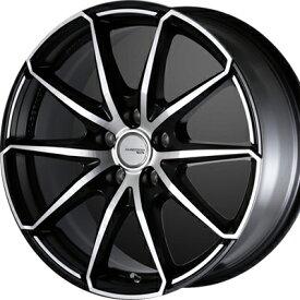 ホイール: DOALL ALGERNON Sports M25S ホイールサイズ: 8.0J-19 タイヤ銘柄: TOYO TIRES TRANPATH Lu II(Lu2) タイヤサイズ: 225/45R19 タイヤ&ホイール4本セット【19インチ】