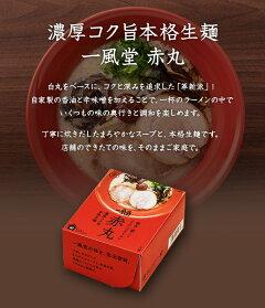 【おうちでIPPUDO】一風堂赤丸コクと深みのとんこつラーメン1食『豚骨福岡博多高菜香油』